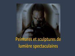 diaporama pps Peintures et sculptures de lumière
