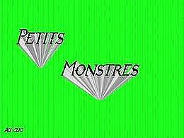 diaporama pps Petits monstres