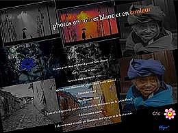 diaporama pps Photos noir et blanc et en couleur