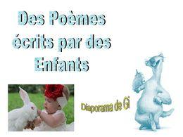 diaporama pps Poésies d'enfants