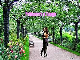 diaporama pps Primavera e tango