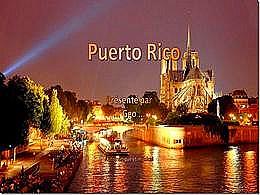 diaporama pps Puerto Rico