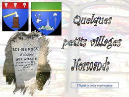 diaporama pps Quelques petits villages normands