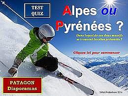 diaporama pps Quiz Alpes ou Pyrénées