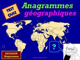 diaporama pps Quiz anagrammes géographiques