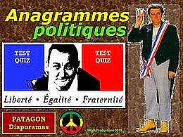 diaporama pps Quiz anagrammes politiques