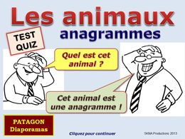 diaporama pps Quiz animaux – Anagrammes