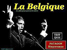 diaporama pps Quiz Belgique
