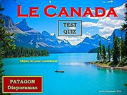 diaporama pps Quiz Canada