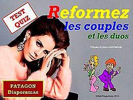 diaporama pps Quiz couples et duos
