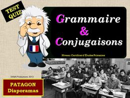 diaporama pps Quiz Grammaire Conjugaison