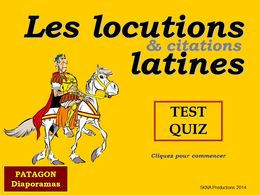 diaporama pps Quiz locutions latines