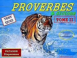 diaporama pps Quiz proverbes 2