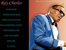diaporama pps Ray Charles I