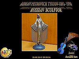 diaporama pps Roman Petrovich Tyrtov – russian sculptor