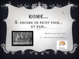 diaporama pps Rome 5 – Encore un petit tour