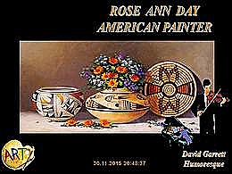 diaporama pps Rose Ann Day – American painter