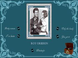 diaporama pps Roy Orbison