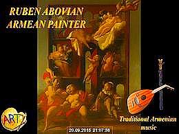diaporama pps Ruben Abovian 1948 armenian painter