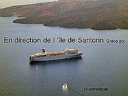 diaporama pps Ile de Santorin
