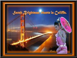 diaporama pps Sarah Brightman chante la Califfa