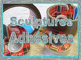 diaporama pps Sculptures adhésives