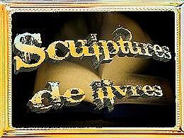 diaporama pps Sculptures de livres