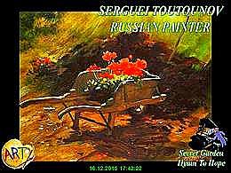 diaporama pps Serguei Toutounov – russian painter