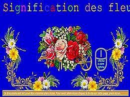 diaporama pps Signification des fleurs