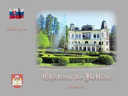 diaporama pps Slovaquie château de Betliar – L'intérieur