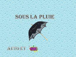 diaporama pps Sous la pluie