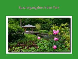 diaporama pps Spaziergang durch den Park
