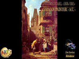 diaporama pps Spitzweg Carl – german painter