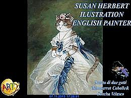 diaporama pps Susan Herbert – ilustrator english painter