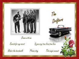 diaporama pps The Drifters