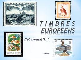 diaporama pps Timbres européens