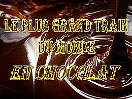 diaporama pps Train en chocolat