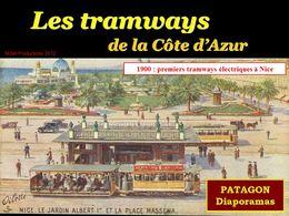 diaporama pps Tramways Côte d'Azur