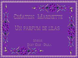 diaporama pps Un parfum de lilas