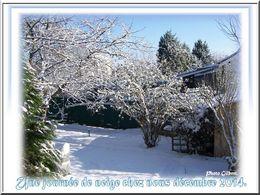 diaporama pps Une journée de neige chez nous