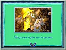 diaporama pps Journée de pluie avec les tout petits