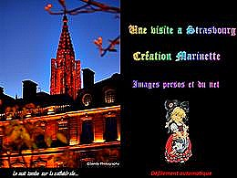 diaporama pps Une visite à Strasbourg