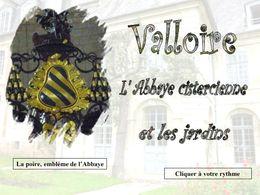 diaporama pps Valloire abbaye jardins