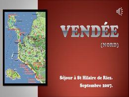 diaporama pps Vendée Saint Hilaire 2007