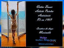 diaporama pps Victor Bauer artiste peintre américain