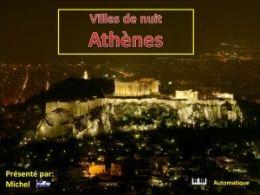 diaporama pps Villes de nuit Athènes