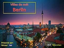 diaporama pps Villes de nuit Berlin