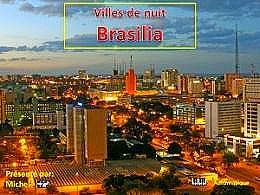 diaporama pps Villes de nuit Brasilia