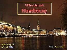 diaporama pps Villes de nuit Hambourg