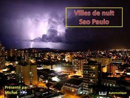 diaporama pps Villes de nuit Sao Paulo